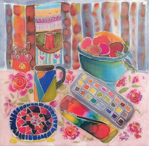 bilder-fuer-ein-wohnzimmer - Artist's Paintbox, 2006 - Simon, Hilary
