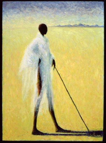 orientalische-gemaelde - Long Shadow, 1993 (oil on canvas) - Willis, Tilly