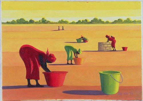 orientalische-gemaelde - Beyond the Pale, 1998 (oil on canvas) - Willis, Tilly