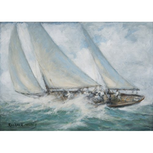 Tableau - Classic Yacht - Twixt Wind and Water -