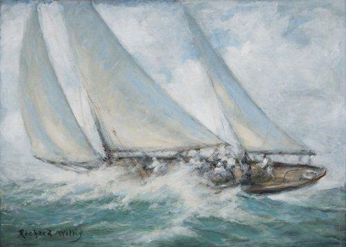 seelandschaft - Classic Yacht - Twixt Wind and Water - Willis, RIchard