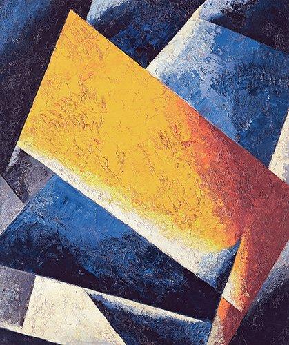 abstrakte-gemaelde - Architectonic composition - Popova, Lyubov Sergevna