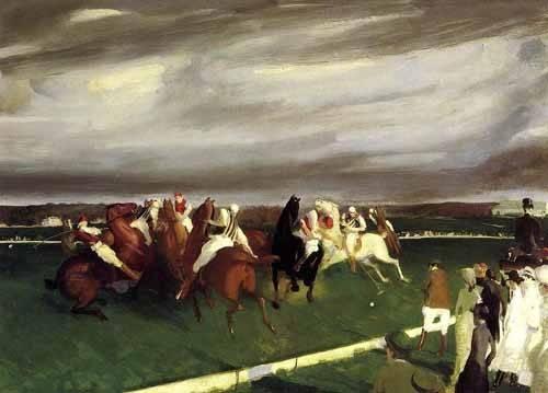 tiermalereien - Polo at Lakewood - Bellows, George
