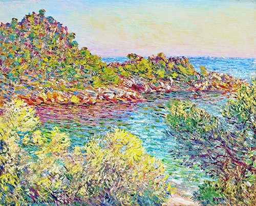 bilder-fuer-ein-esszimmer - Paysage près de Montecarlo - Monet, Claude