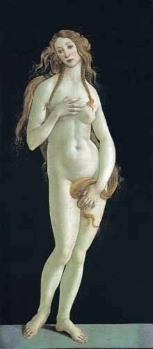 portraetgemaelde - Venus - Botticelli, Alessandro