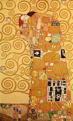 portraetgemaelde - Die Erfüllung (Liebespaar) - Klimt, Gustav