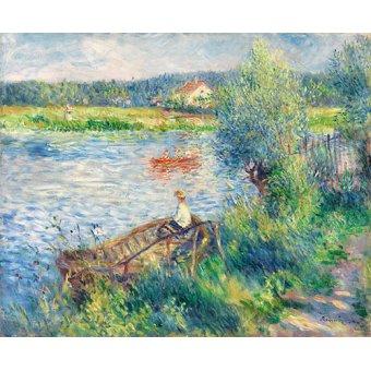- Canotiers à Bougival - Renoir, Pierre Auguste