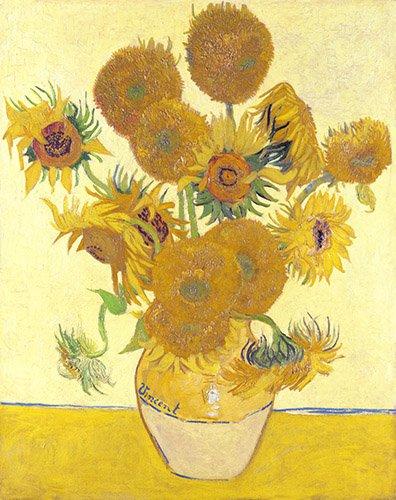 blumen-und-pflanzen - Sonnenblumen - Van Gogh, Vincent