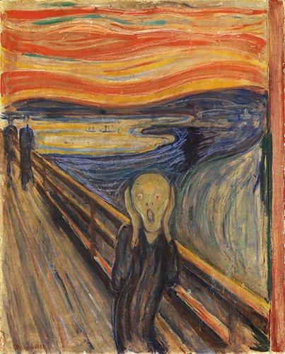 portraetgemaelde - Der Schrei (The Scream), 1893 - Munch, Edvard