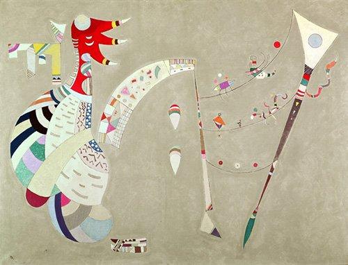 abstrakte-gemaelde - Ausgeglichen, 1942 - Kandinsky, Wassily