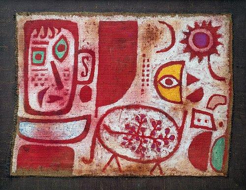abstrakte-gemaelde - Rausch - Klee, Paul