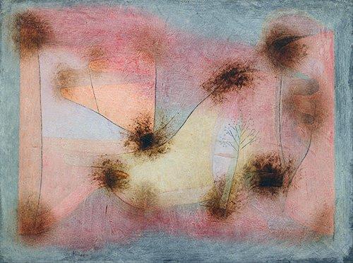 abstrakte-gemaelde - winterharte Pflanzen - Klee, Paul