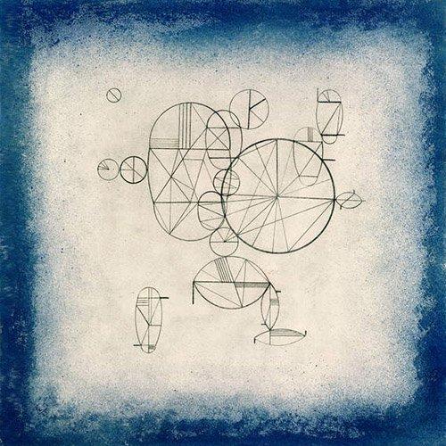 abstrakte-gemaelde - Blue Circles, 1933 - Kandinsky, Wassily