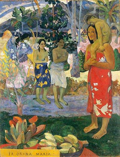 portraetgemaelde - Ia Orana Maria - Gauguin, Paul