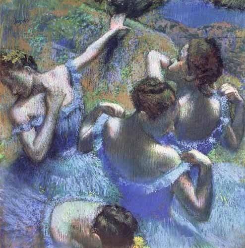 portraetgemaelde - Les danseurs bleus - Degas, Edgar