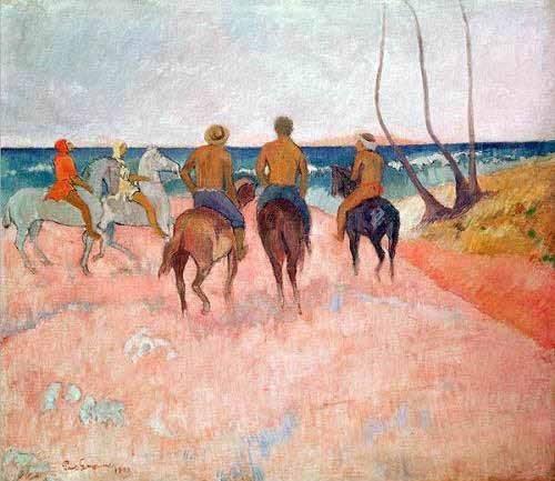 portraetgemaelde - Hiva Hoa - Gauguin, Paul