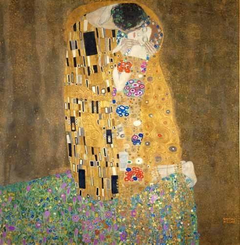 portraetgemaelde - Der Kuss - Klimt, Gustav