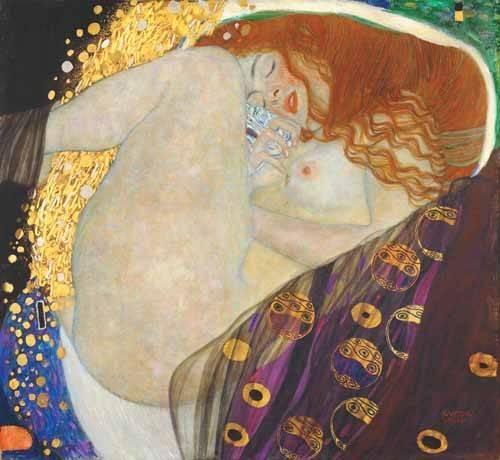 portraetgemaelde - Danaë - Klimt, Gustav