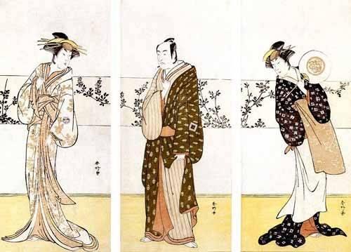 orientalische-gemaelde - Actores japoneses - Sunko, Kaisukawa