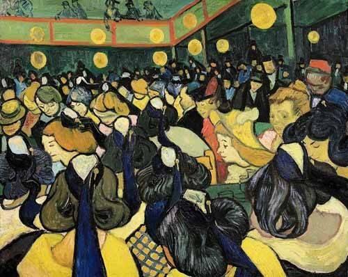 portraetgemaelde - La salle de danse à Arles - Van Gogh, Vincent