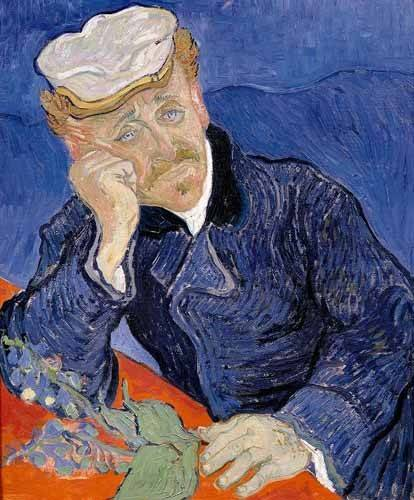 portraetgemaelde - Docteur Paul Gachet - Van Gogh, Vincent
