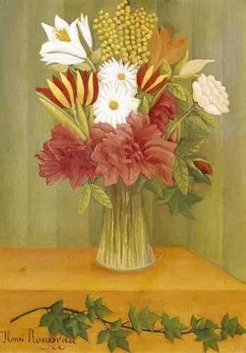 blumen-und-pflanzen - Ramo de flores - Rousseau, Henri