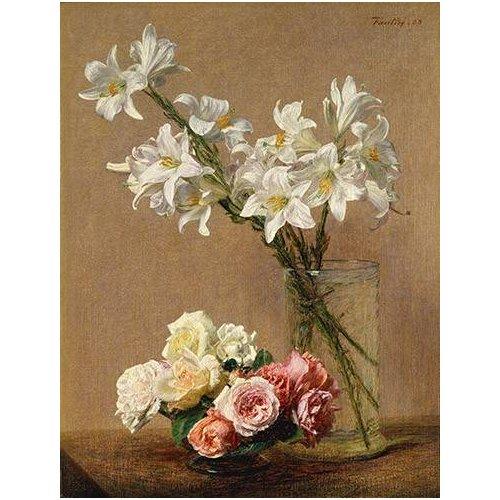 Rosas y Lilas