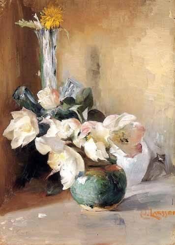 blumen-und-pflanzen - Rosas de Navidad - Larsson, Carl