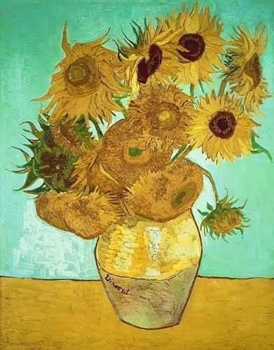 blumen-und-pflanzen - Les Tournesols 3 - Van Gogh, Vincent