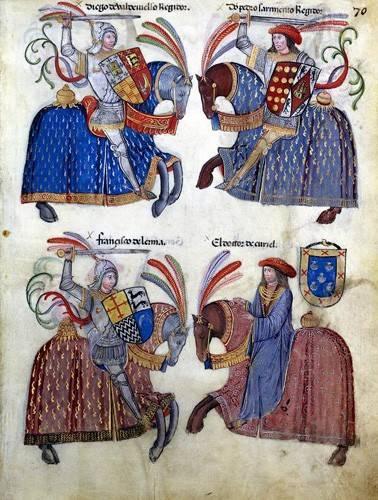 alte-karten-und-zeichnungen - Libro de los caballeros de Santiago-2 - _Anonym Spanien