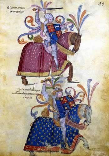 alte-karten-und-zeichnungen - Libro de los caballeros de Santiago-4 - _Anonym Spanien