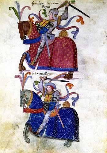 alte-karten-und-zeichnungen - Libro de los caballeros de Santiago-5 - _Anonym Spanien