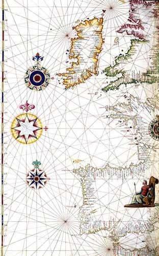 alte-karten-und-zeichnungen - Atlas portugués, 1565 (Diego Homm)- MAPAS - Anciennes cartes