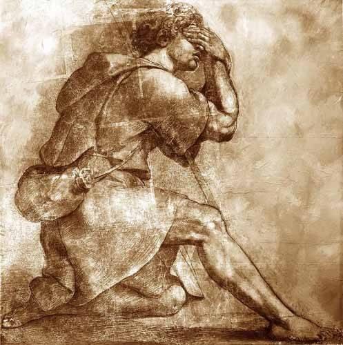 alte-karten-und-zeichnungen - Moses - Raphaël, Sanzio da Urbino Raffael