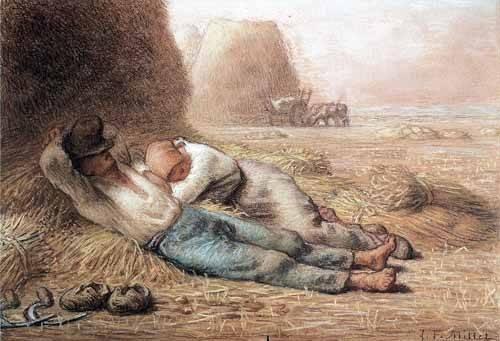 alte-karten-und-zeichnungen - La méridienne, 1866 - Millet, Jean François