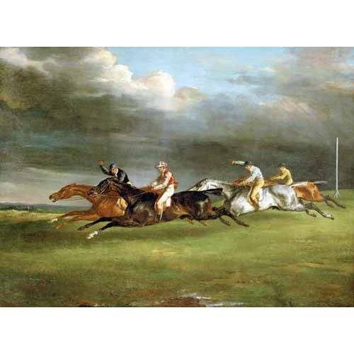 Carrera de caballos en Epsom