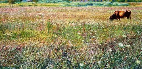 landschaften-gemaelde - Roman countryside - Boccioni, Umberto