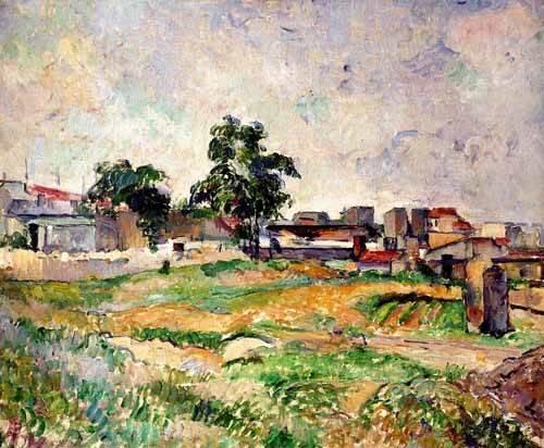 landschaften-gemaelde - Paysage - Cezanne, Paul