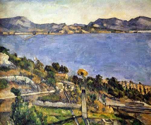seelandschaft - L'Estaque - Cezanne, Paul
