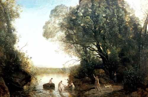 landschaften-gemaelde - Pastoril - Corot, J. B. Camille