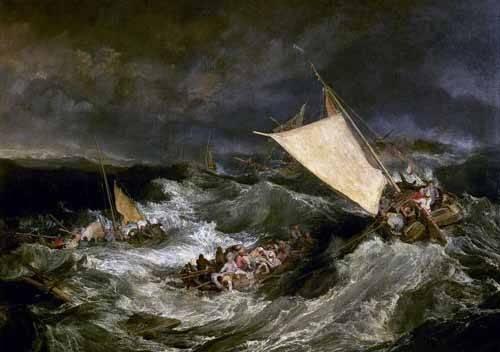 seelandschaft - Le naufrage - Turner, Joseph M. William