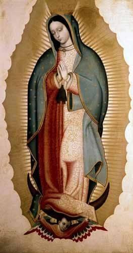 religioese-gemaelde - La Virgen de Guadalupe - Cabrera, Miguel