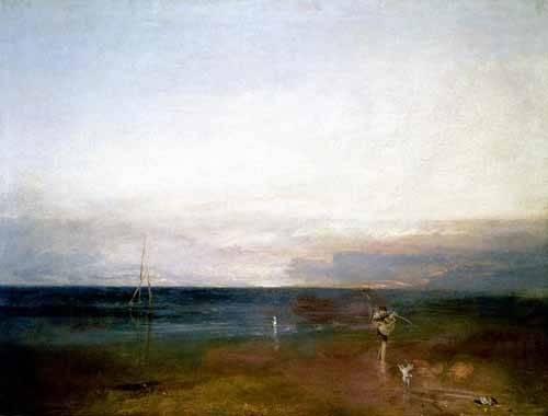 landschaften-gemaelde - L'étoile du soir - Turner, Joseph M. William