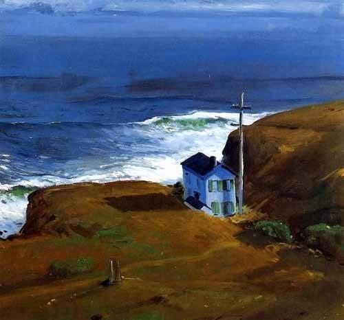 seelandschaft - Shore House - Bellows, George