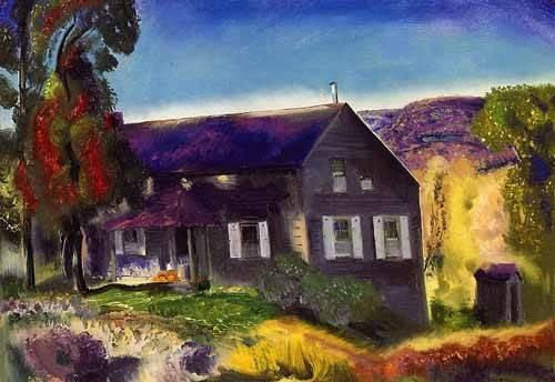 landschaften-gemaelde - Black House - Bellows, George