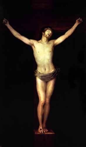 religioese-gemaelde - Cristo crucificado - Goya y Lucientes, Francisco de