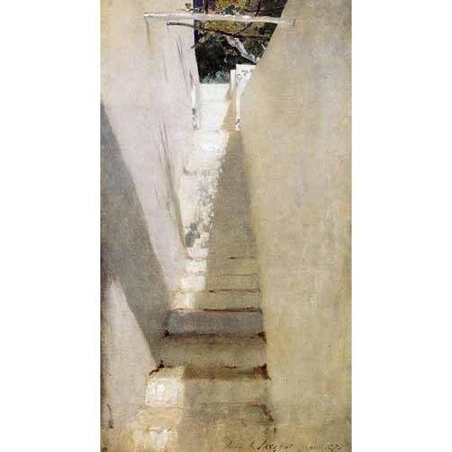 Escalinata en Capri