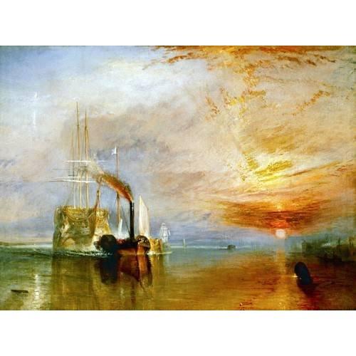 Die letzte Fahrt der Temeraire, 1838