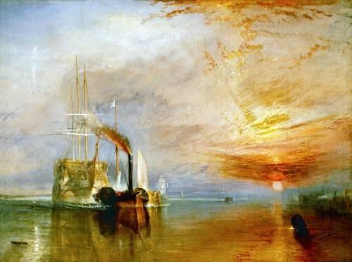 seelandschaft - Die letzte Fahrt der Temeraire, 1838 - Turner, Joseph M. William
