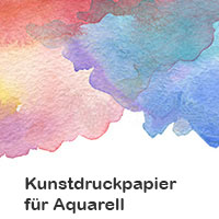 Kunstdruckpapier-Aquarell